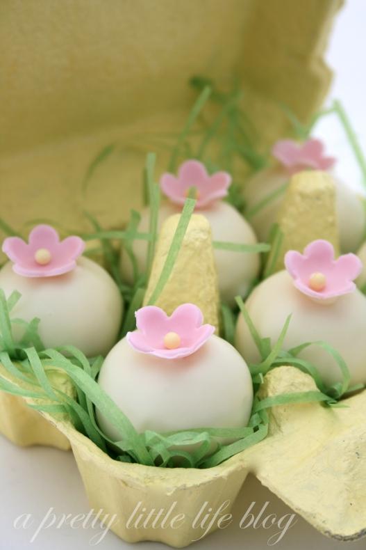 Coconut Easter Truffles