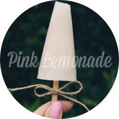 Pink Lemonade Ice Blocks