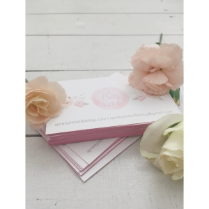 Pretty Pink Business Cards