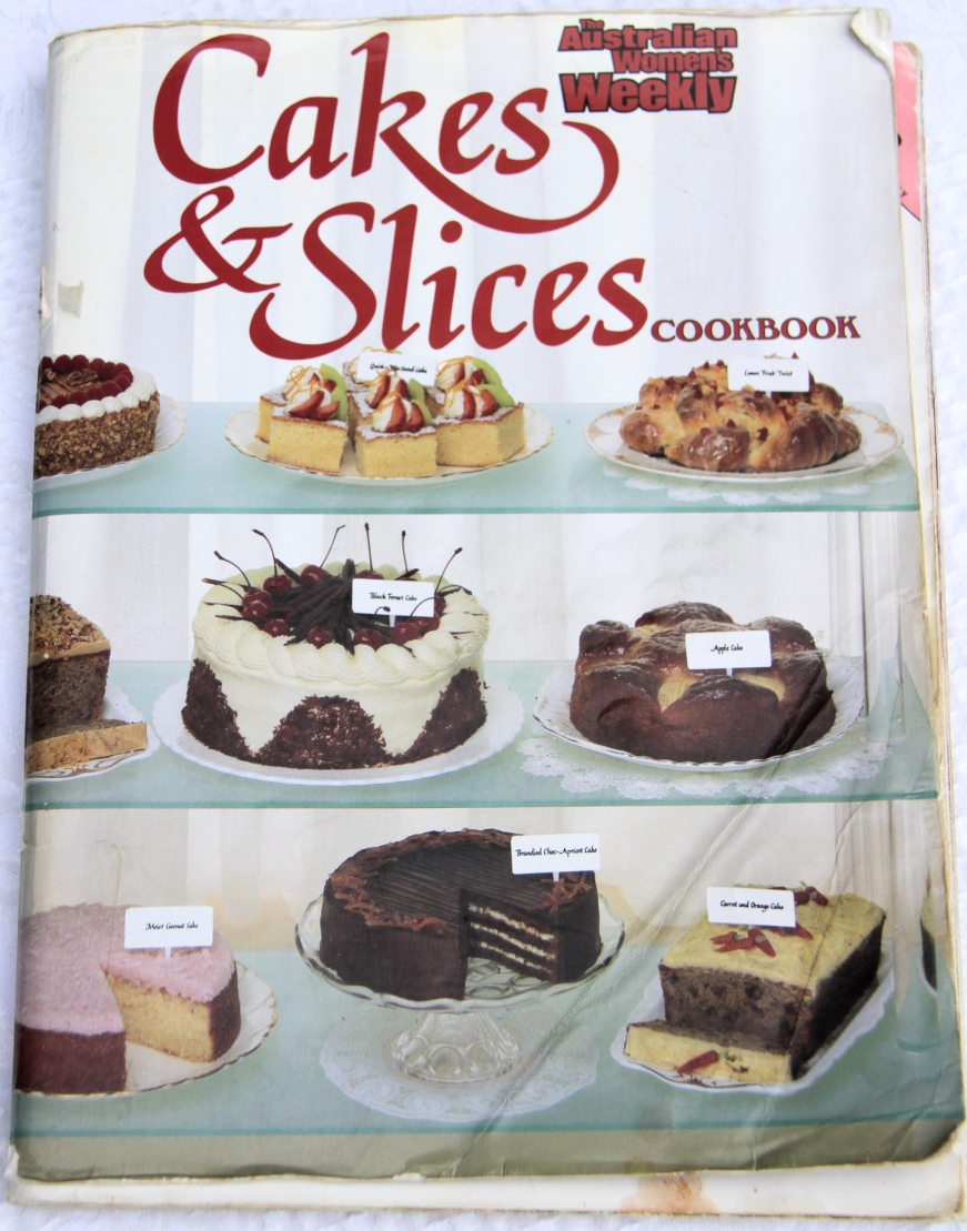 Australina Womens Weekly cakes and slice